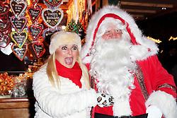 © Licensed to London News Pictures. 21/11/2013, UK.  Vanessa Feltz. Hyde Park Winter Wonderland VIP Opening, Hyde Park, London UK, 21 November 2013. Photo credit : Richard Goldschmidt/Piqtured/LNP