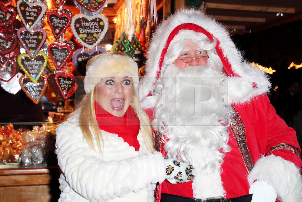 © Licensed to London News Pictures. 21/11/2013, UK.  Vanessa Feltz. Hyde Park Winter Wonderland VIP Opening, Hyde Park, London UK, 21 November 2013. Photo credit : Richard Goldschmidt/Piqtured/LNP