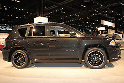 11 February 2009: Jeep Rallye. The Chicago Auto Show is a charity event of the Chicago Automobile Trade Association (CATA) and is held annually at McCormick Place in Chicago Illinois.