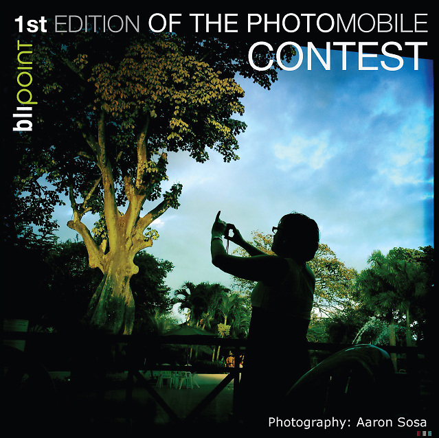 Imagen del Concurso PHOTO MOBILE Contest de Blipoint.<br />