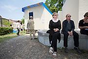 """Austrian Pavillion. Franziska & Lois Weinberger (m.), """"Laubreise"""", 2009."""