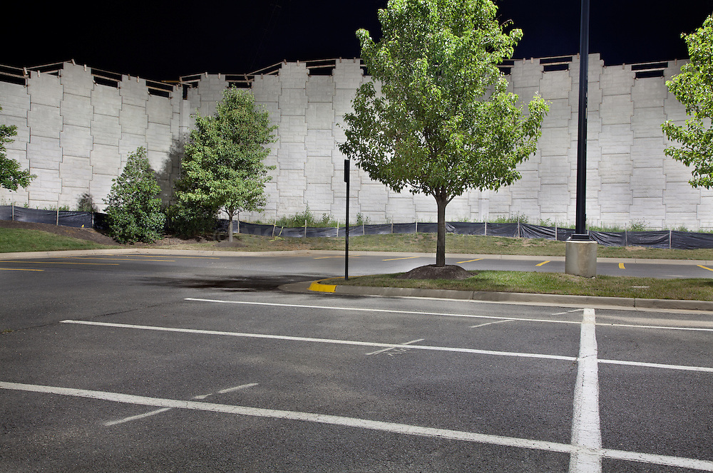 Urban Landscape parking lot