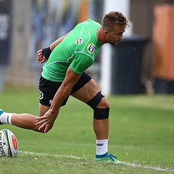 DURBAN, SOUTH AFRICA - MAY 15: Jeremy Ward of the Cell C Sharks during the Cell C Sharks training session at Jonsson Kings Park on May 15, 2018 in Durban, South Africa. (Photo by Steve Haag/Gallo Images)