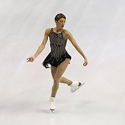 Samantha Cesario competes during the championship ladies free skate at the 2014 US Figure Skating Championships at the TD Garden on January 11, 2014 in Boston, Massachusetts.