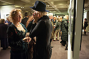 SUSANNAH FIENNES; LAURA TENISON, Echoes of a Vanished World. A Traveller's Lifetime in Pictures. By Robin Hanbury-Tenison. Exhibition of photographs printed by Graham Ovendon. National Theatre. South Bank. London. 23 January 2013