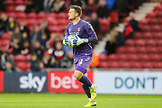 Charlton Athletic goalkeeper Dillon Phillips (1) during the EFL Sky Bet Championship match between Middlesbrough and Charlton Athletic at the Riverside Stadium, Middlesbrough, England on 7 December 2019.