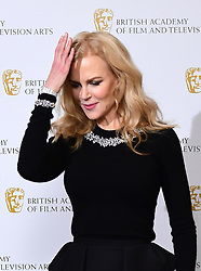 Nicole Kidman attending a photocall for Life In Pictures: Nicole Kidman BAFTA retrospective, held at the Princess Anne Theatre, London