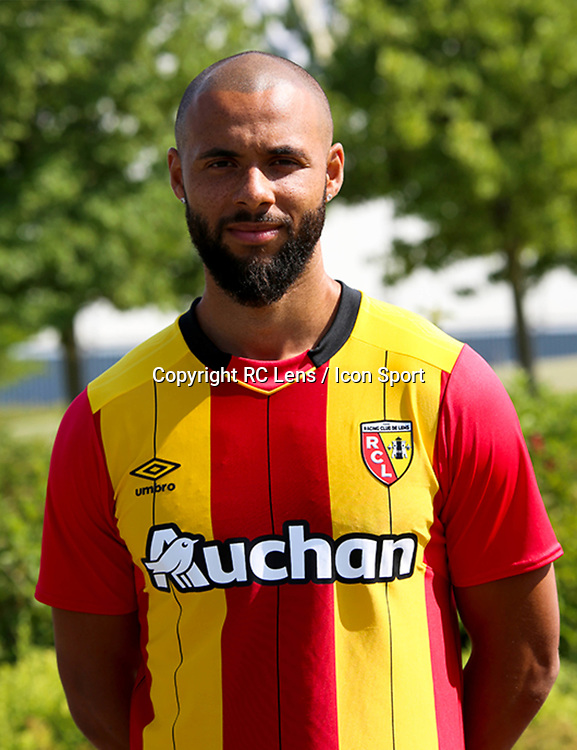 John Bostock during photoshooting of RC Lens for new season 2017/2018 on October 5, 2017 in Lens, France<br /> Photo by RC Lens / Icon Sport