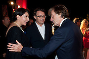 MARINA ABRAMOVIC; MARCO BRAMBILLA; LUCA DE MONTEZEMOLO, Hosted by Interview Russia.  On behalf of Ferrari, Peter M. Brant and SothebyÕs Tobias Meyer party in honor of FerrariÕs Chairman, Luca di Montezemolo, 1111 Lincoln Road, the iconic car-park in the shopping mall designed by the Pritzker prize winning team Herzog & de Meuron.,  Miami Beach. 29 November 2011.<br /> MARINA ABRAMOVIC; MARCO BRAMBILLA; LUCA DE MONTEZEMOLO, Hosted by Interview Russia.  On behalf of Ferrari, Peter M. Brant and Sotheby's Tobias Meyer party in honor of Ferrari's Chairman, Luca di Montezemolo, 1111 Lincoln Road, the iconic car-park in the shopping mall designed by the Pritzker prize winning team Herzog & de Meuron.,  Miami Beach. 29 November 2011.