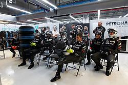 Motorsports / Formula 1: World Championship 2010, GP of Korea, mechanic of Mercedes GP Petronas during race