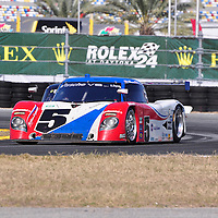 Action Express Racing competing in the Rolex 24 at Daytona 2011