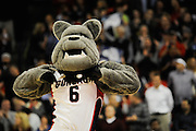 Spike celebrates as Gonzaga dismantles Saint Mary's 73-51 at the McCarthey Athletic Center (Photo by Gonzaga University)
