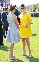 (Right) Zara Phillips at Ladies Day at Glorious Goodwood in the UK  <br /> Thursday, 1st August 2013<br /> Picture by i-Images