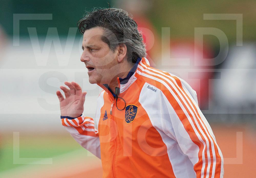 AUCKLAND - Champions Trophy men.Netherlands v Korea.foto: Coach Paul van Ass..FFU Press Agency  COPYRIGHT FRANK UIJLENBROEK..