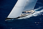 Mystere racing in the St. Barth Bucket regatta.