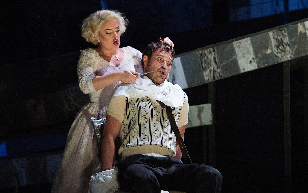 Glyndebourne Touring Opera present Don Giovanni by Wolfgang Amadeus Mozart<br /> <br /> <br /> Don Giovanni - Duncan Rock<br /> Donna Anna -  Ana Maria Labin<br /> Don Ottavio  - Anthony Gregory<br /> Donna Elvira  - Magdalena Molendowska<br /> Leporello  - Brandon Cedel<br /> Il Commendatore  - Andrii Goniukov<br /> Zerlina  - Louise Alder<br /> Masetto  - Božidar Smiljanić<br /> <br /> <br /> Conductor Pablo Gonz&aacute;lez (15, 22, 25, 27, 30 Oct; 4,8, 11, 15, 18, 22, 25 Nov)<br /> Ben Gernon (29 Nov; 2, 6, 9 Dec)<br /> Director Jonathan Kent<br /> Revival Director Lloyd Wood<br /> Designer Paul Brown<br /> Lighting Designer Mark Henderson<br /> <br /> The Glyndebourne Tour Orchestra<br /> The Glyndebourne Chorus<br /> <br /> Don Giovanni Duncan Rock<br /> Donna Anna Ana Maria Labin<br /> Don Ottavio Anthony Gregory<br /> Donna Elvira Magdalena Molendowska<br /> Leporello Brandon Cedel<br /> Il Commendatore Andrii Goniukov<br /> Zerlina Louise Alder<br /> Masetto Božidar Smiljanić