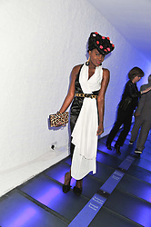 SHINGAI SHONIWA at a party to celebrate the publication of Joseph Anton by Sir Salman Rushdie held at The Collection, 264 Brompton Road, London SW3 on 14th September 2012.