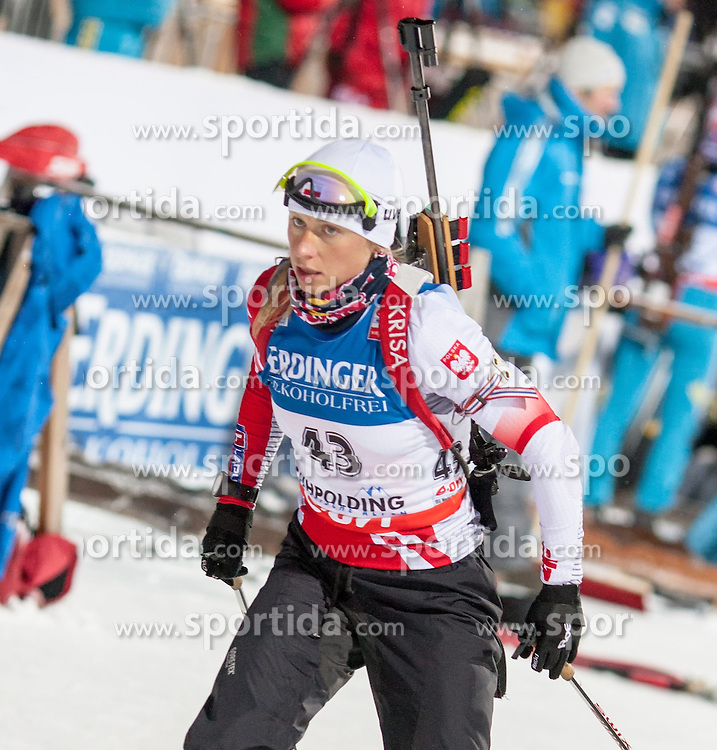 11.01.2013, Chiemgau Arena, Ruhpolding, GER, E.ON IBU Weltcup, Sprint, Damen, im Bild Krystyna Palka (POL) // Krystyna Palka of Poland during Womens sprint of E.ON IBU Biathlon World Cup at the Chiemgau Arena in Ruhpolding, Germany on 2013/01/11. EXPA Pictures © 2013, PhotoCredit: EXPA/ Sven Kiesewetter