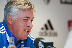 JUL 07 2013 Carlo Ancelotti - Real Madrid Manager