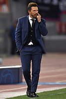 Eusebio Di Francesco of AS Roma gestures during the Uefa Champions League 2018/2019 Group G football match between AS Roma and CSKA Moscow at Olimpico stadium Allianz Stadium, Rome, October, 23, 2018 <br />  Foto Andrea Staccioli / Insidefoto
