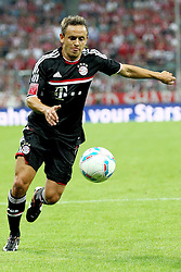 26.07.2011, Allianz Arena, Muenchen, GER, Audi Cup 2011,  FC Bayern vs AC Milan, im Bild  Rafinha (Bayern #13) // during the Audi Cup 2011,  FC Bayern vs AC Milan , on 2011/07/26, Allianz Arena, Munich, Germany, EXPA Pictures © 2011, PhotoCredit: EXPA/ nph/  Straubmeier       ****** out of GER / CRO  / BEL ******