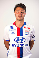Clement Grenier during the photocall of Lyon for new season of Ligue 1 on September 22nd 2016 in Lyon<br /> Photo : OL / Icon Sport
