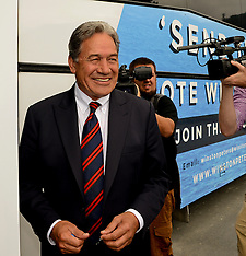 Northland-By-Election, Winston Peters visits Moerewa freezing works
