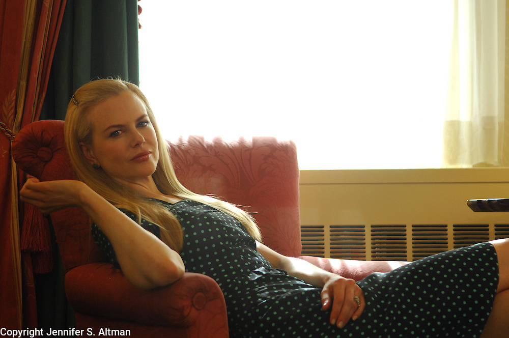 Actress Nicole Kidman is seen in the Waldorf Astoria Hotel in Manhattan, NY. 10/6/2007 Photo by Jennifer S. Altman/For The Times