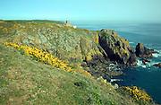 German coastal gun batteries Torteval Guernsey, Channel Islands