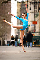 Dance As Art The New York Photography Project: Tribeca Series with dancer Erin Dowd