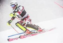 Marc Digruber (AUT) competes during 1st Run of 10th Men's Slalom race of FIS Alpine Ski World Cup 55th Vitranc Cup 2016, on March 6, 2016 in Podkoren, Kranjska Gora, Slovenia. Photo by Vid Ponikvar / Sportida
