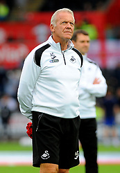 Alan Curtis of Swansea City looks on - Mandatory by-line: Nizaam Jones/JMP- 21/08/2018 - FOOTBALL - Liberty Stadium - Swansea, Wales - Swansea City v Leeds United - Sky Bet Championship