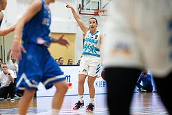 Teja OBLAK of Slovenia during basketball match qualifications for European Championship, round 1, between national teams Slovenia and Greece in Arena Celje - Center, 14. November, Ljubljana, Slovenia. Photo by Grega Valancic / Sportida