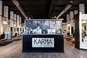 Interior shot of Karma Salon located in Springfield, MO. Photo by Brandon Alms