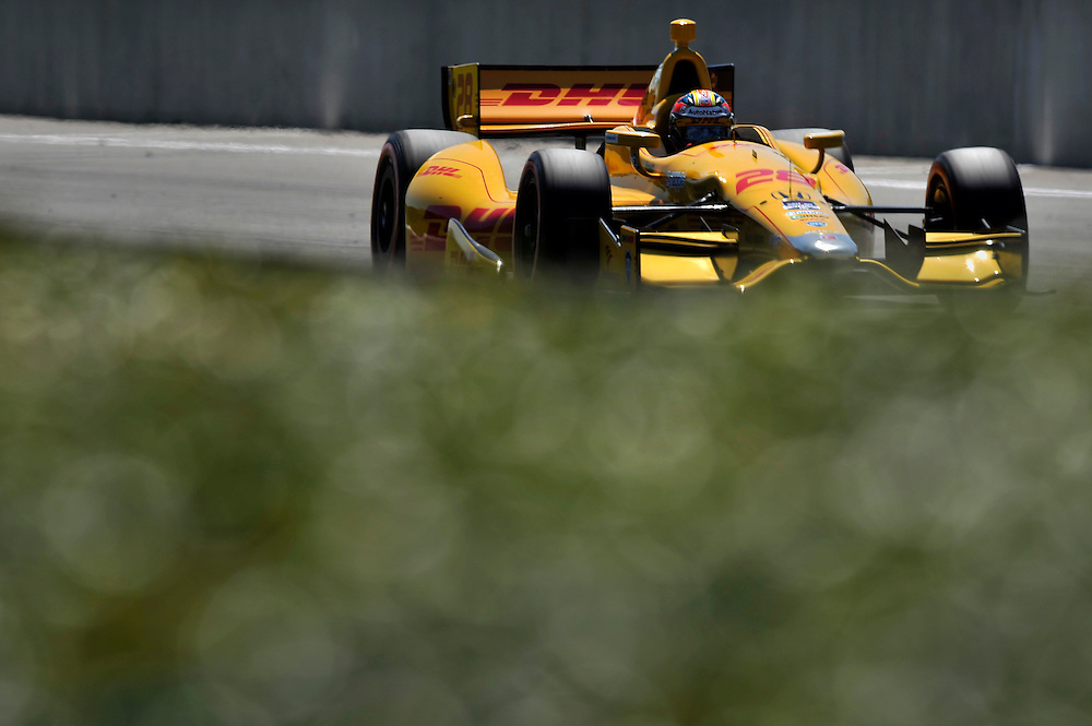 25-27 April, 2014, Birmingham, Alabama USA<br /> Ryan Hunter-Reay<br /> &copy;2014 Scott R LePage <br /> LAT Photo USA
