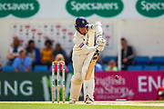Felix Organ of Hampshire batting during the Specsavers County Champ Div 1 match between Surrey County Cricket Club and Hampshire County Cricket Club at the Kia Oval, Kennington, United Kingdom on 18 August 2019.
