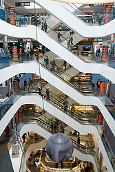 Modern Sevens shopping mall on upmarket Konigsallee in Dusseldorf Germany