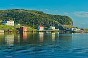 FIshing village at sunrise. Bonavista Bay.<br />Salvage<br />Newfoundland & Labrador<br />Canada