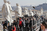 Rome, 27-02-2013<br /> <br /> Last audience of Pope Benedict<br /> <br /> Photo:Bernard Rubsamen/ Royalportraits EUrope