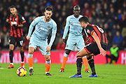 Eden Hazard (10) of Chelsea and Andrew Surman (6) of AFC Bournemouth during the Premier League match between Bournemouth and Chelsea at the Vitality Stadium, Bournemouth, England on 30 January 2019.