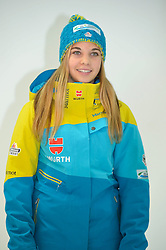 11.11.2014, MOC, München, GER, Snowboard Verband Deutschland, Einkleidung Winterkollektion 2014, im Bild Melanie Hochreiter // during the Outfitting of Snowboard Association Germany e.V. Winter Collection at the MOC in München, Germany on 2014/11/11. EXPA Pictures © 2014, PhotoCredit: EXPA/ Eibner-Pressefoto/ Buthmann<br /> <br /> *****ATTENTION - OUT of GER*****