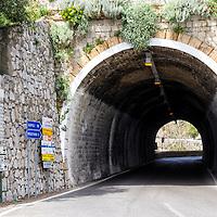 Carretera de la Costa Amalfitana, Italia. Highway Amalfi Coast, Italy