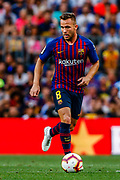 Arthur Henrique from Brasil during the Joan Gamper trophy game between FC Barcelona and CA Boca Juniors in Camp Nou Stadium at Barcelona, on 15 of August of 2018, Spain, Photo Xavier Bonilla / SpainProSportsImages / DPPI / ProSportsImages / DPPI
