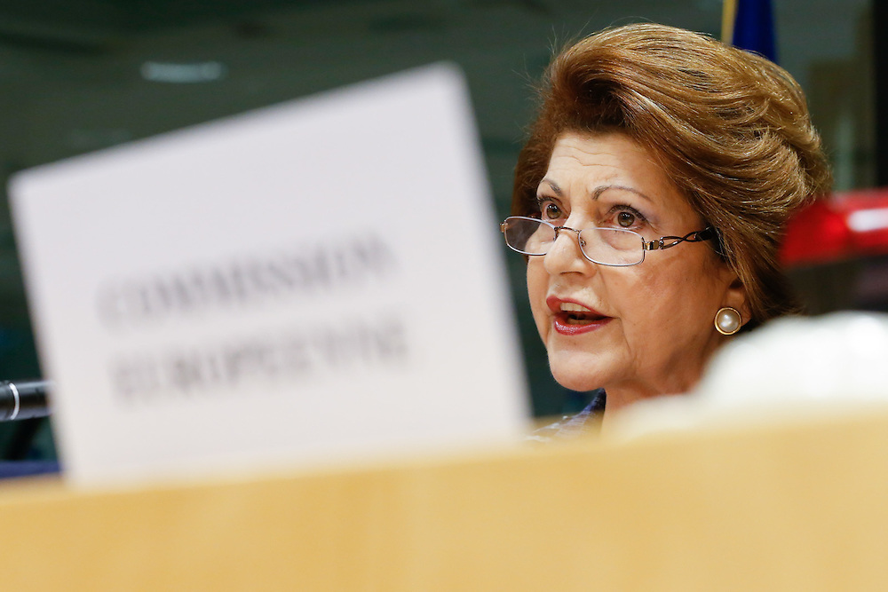 Androuilla VASSILIOU at the EP CULT Committee meeting