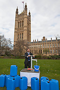 Anas Sarwar MP. Marking World Water Day, over 40 MP's walked for water at Westminster, London at an event organised by WaterAid and Tearfund. Globally hundreds of thousands of people took part in the campaign to raise awareness of the world water crisis.