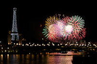 Eiffel Tower-Bastille Day-Paris