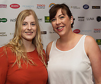 13/11/2015 Repro free:  Claire Green and Mary Killilea from Penny's at Galway Glamour  by Galway Shopping Centre at the g Hotel hosted by Sile Seoige  <br /> Photo:Andrew Downes, xposure.