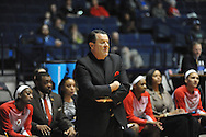 """Mississippi vs. Georgia head coach Andy Landers at the C.M. """"Tad"""" Smith Coliseum in Oxford, Miss. on Thursday, January 15, 2015.  (AP Photo/Oxford Eagle, Bruce Newman)"""