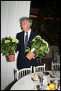 ARNAUD BAMBERGER, Cartier dinner in celebration of the Chelsea Flower Show. The Palm Court at the Hurlingham Club, London. 19 May 2014.