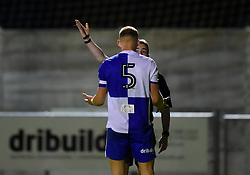 Alfie Kilgour is dismissed after seeing red - Mandatory by-line: Paul Knight/JMP - 16/11/2017 - FOOTBALL - Woodspring Stadium - Weston-super-Mare, England - Bristol City U23 v Bristol Rovers U23 - Central League Cup